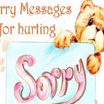 Apology And Sorry Messages