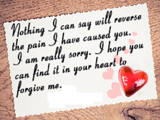 Best Apology And Sorry Poems - Famous Poems - Cool Apology And Sorry