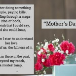 Mother's Day Poems Sayings