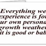 Personal Growth Wishes