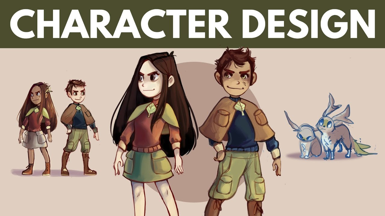5 Tips to Create Game Character Design